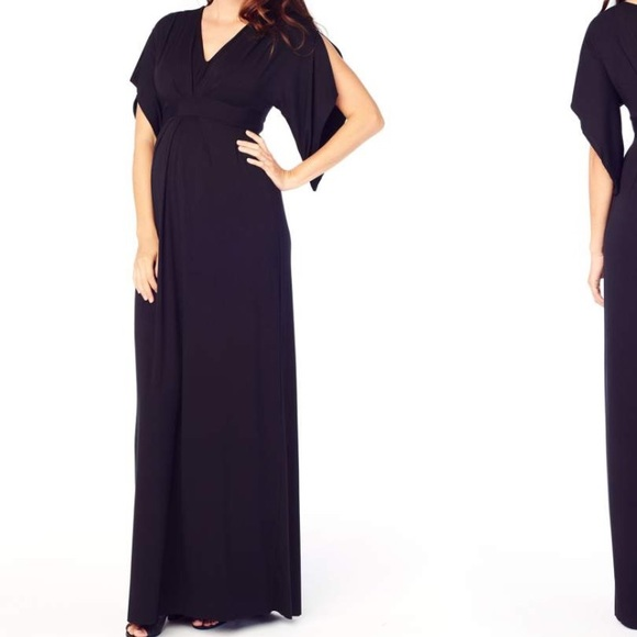 7fb0873cef8ad Ingrid & Isabel Dresses & Skirts - Split Kimono Sleeve Maternity Maxi Dress